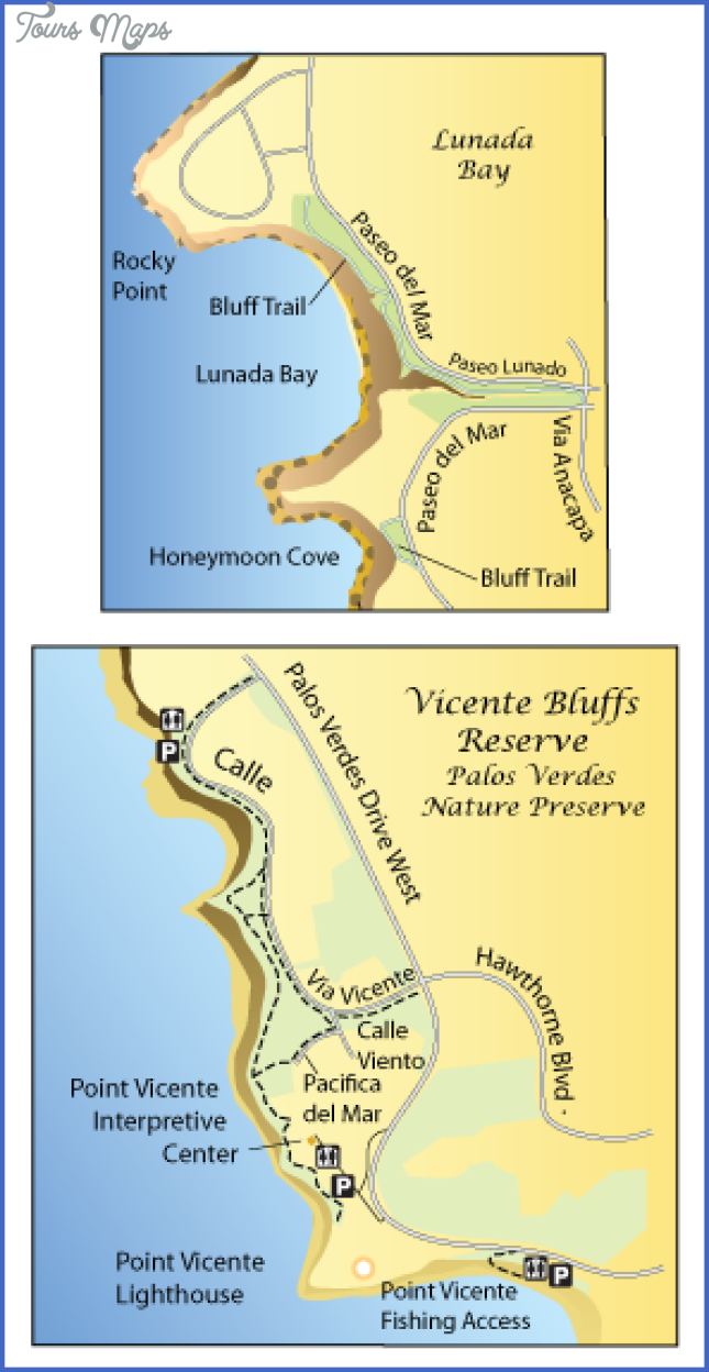 bluff cove to lunada bay map 6 Bluff Cove to Lunada Bay Map