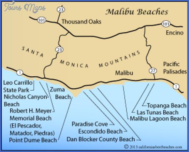 malibu lagoon state beach map 10 Malibu Lagoon State Beach Map
