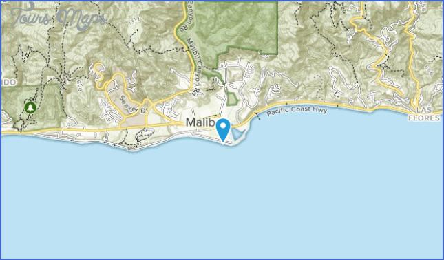 malibu lagoon state beach map 9 Malibu Lagoon State Beach Map
