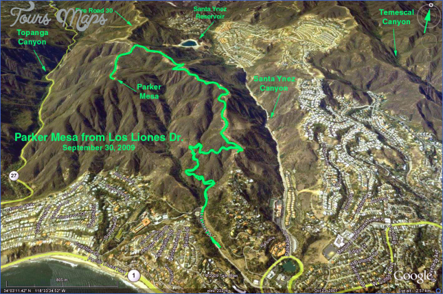 parker mesa overlook map 9 Parker Mesa Overlook Map
