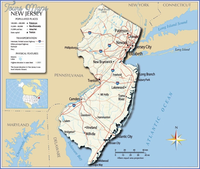 Large New Jersey State Maps for Free Download and Print | High ...