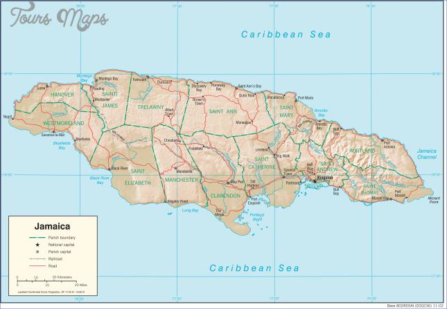 where is jamaica jamaica map jamaica map download free 1 Where is Jamaica?| Jamaica Map | Jamaica Map Download Free