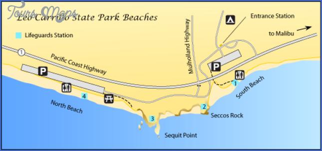 carrillo state park map Nicholas Flat Map