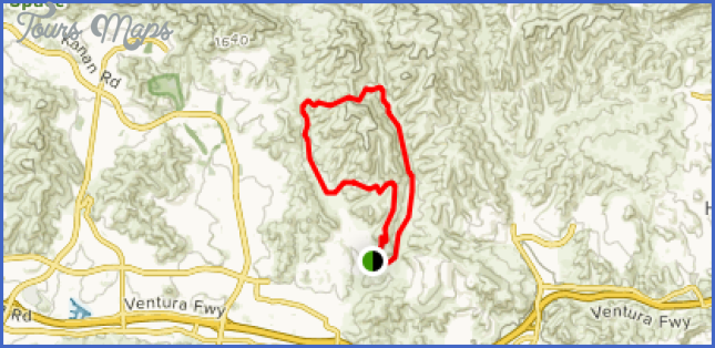 cheeseboropalo comado canyons map 15 Cheeseboro/Palo Comado Canyons Map
