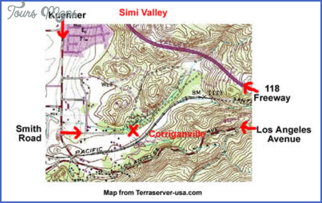 corriganville park map 1 Corriganville Park Map
