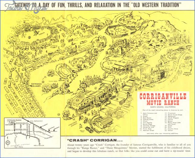 corriganville park map 2 Corriganville Park Map