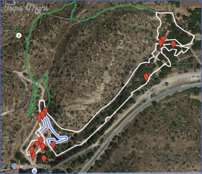corriganville park map 6 Corriganville Park Map