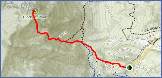 hummingbird creek trail map 2 Hummingbird Creek Trail Map