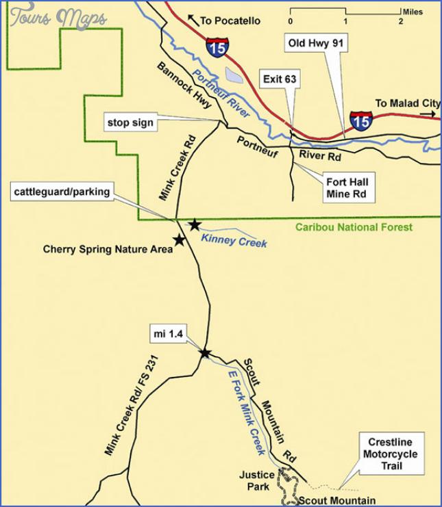 hummingbird creek trail map 7 Hummingbird Creek Trail Map