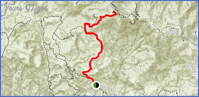 limekiln canyon trail map 5 Limekiln Canyon Trail Map