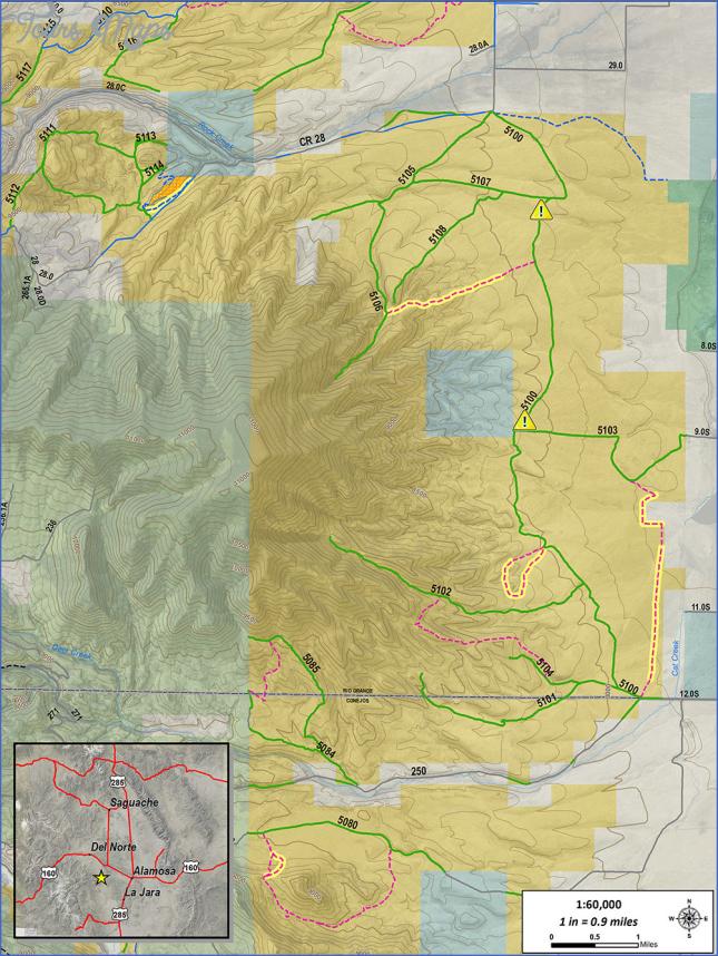 limekiln canyon trail map 6 Limekiln Canyon Trail Map