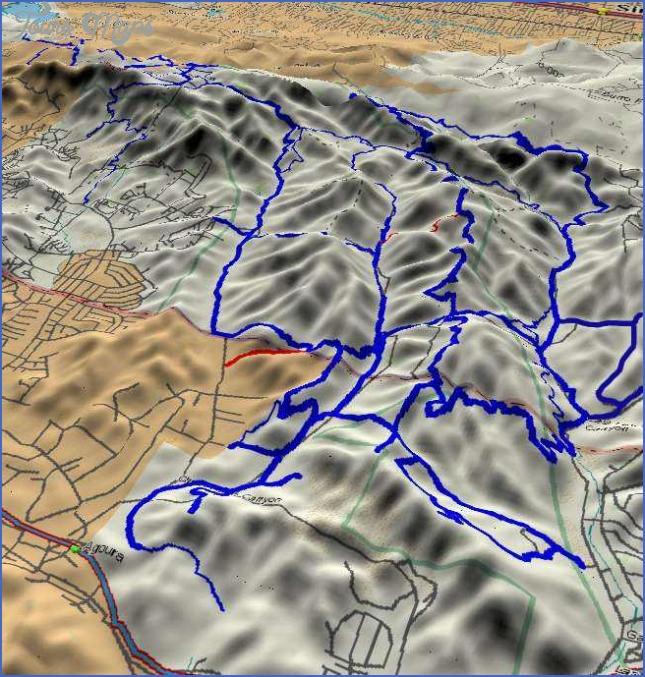 map of cheeseboro canyon to shepherds flat 1 Map Of Cheeseboro Canyon To Shepherds Flat
