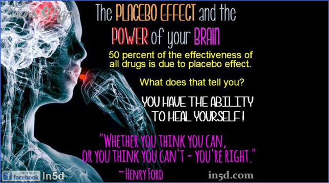the placebo effect  1 The Placebo Effect