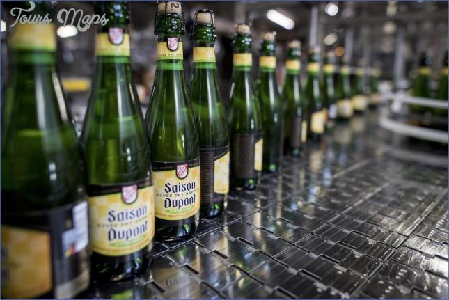 visit to brasserie dupont 4 Visit to Brasserie Dupont