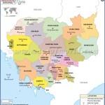 cambodia map map of cambodia  4 150x150 Cambodia Map   Map Of Cambodia