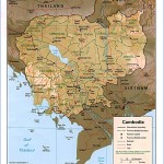 cambodia map outline maps cambodia  4 150x150 Cambodia Map Outline   Maps Cambodia