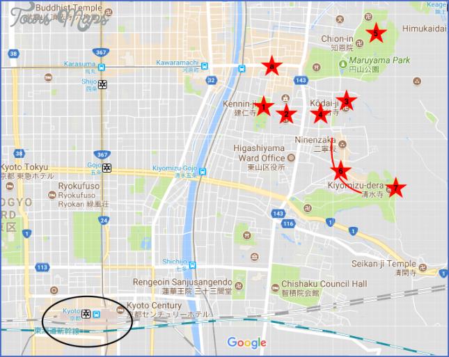 map of kyoto japan  4 Map Of Kyoto Japan