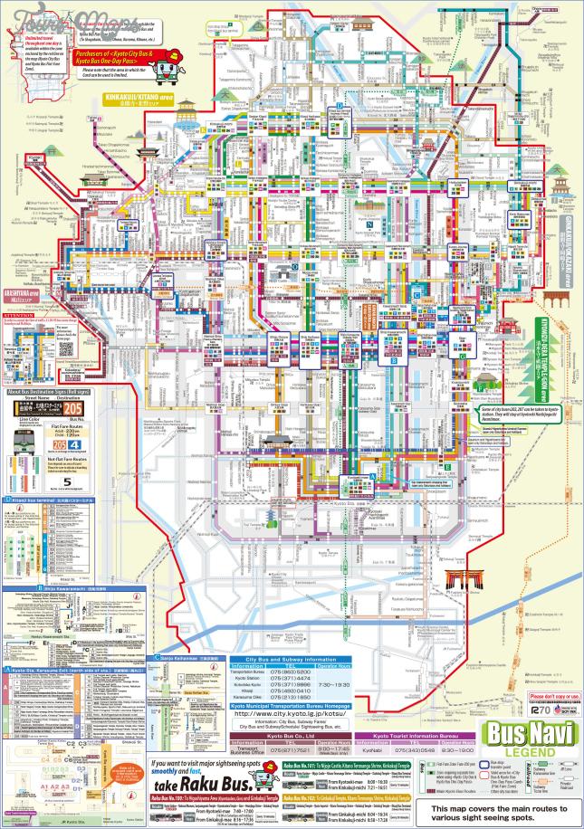 map of kyoto japan  5 Map Of Kyoto Japan