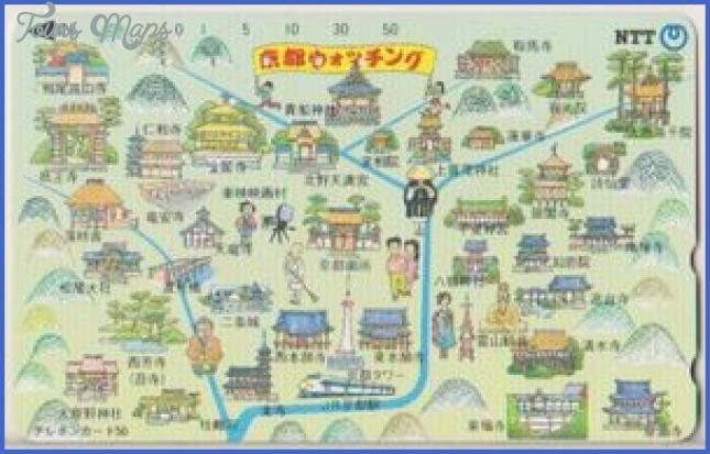 map of kyoto japan  8 Map Of Kyoto Japan