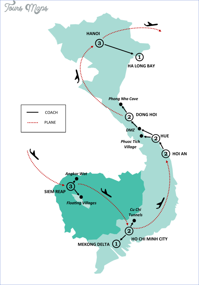 map of vietnam and cambodia  10 Map Of Vietnam And Cambodia