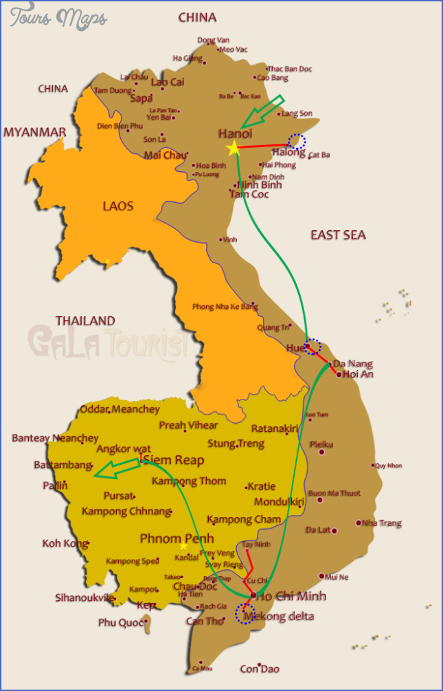 map of vietnam and cambodia  11 Map Of Vietnam And Cambodia