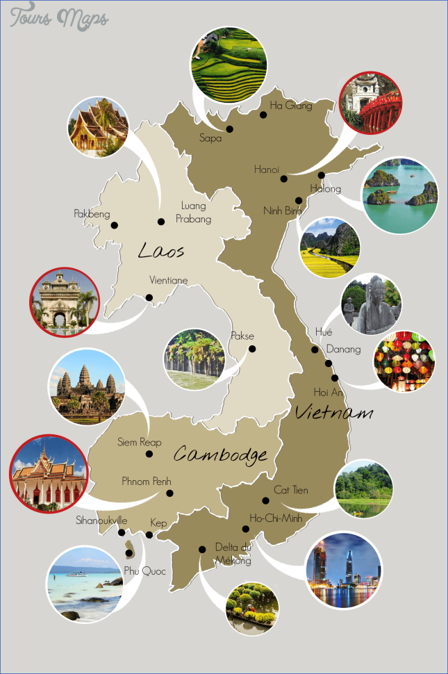 map of vietnam and cambodia  2 Map Of Vietnam And Cambodia