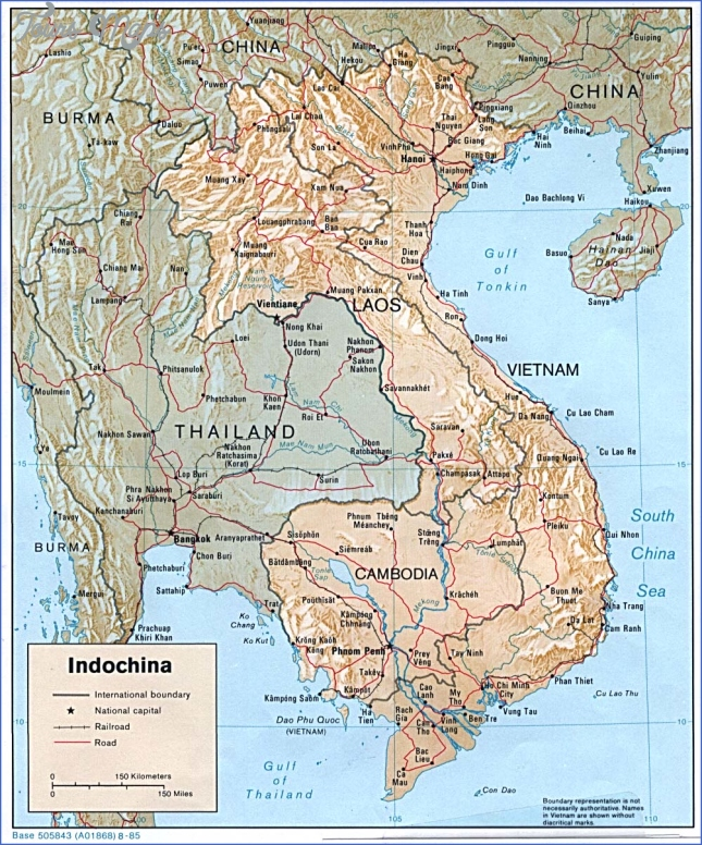 map of vietnam and cambodia  5 Map Of Vietnam And Cambodia