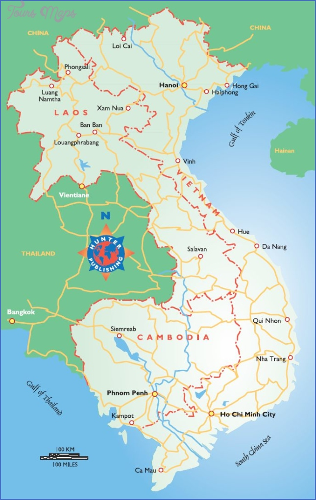 map of vietnam and cambodia  8 Map Of Vietnam And Cambodia