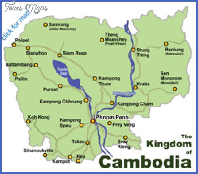 map vietnam cambodia siem reap cambodia map  0 Map Vietnam Cambodia   Siem Reap Cambodia Map