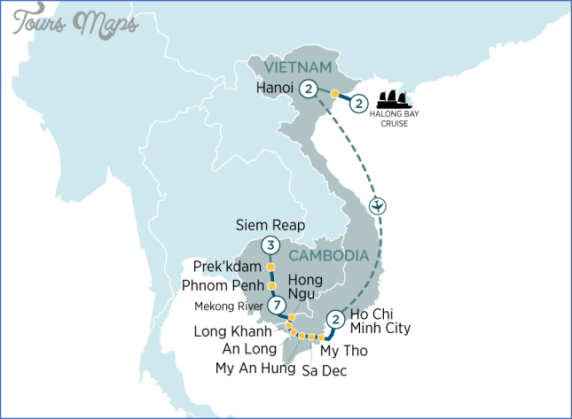 map vietnam cambodia siem reap cambodia map  11 Map Vietnam Cambodia   Siem Reap Cambodia Map