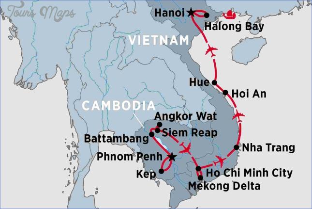 map vietnam cambodia siem reap cambodia map  3 Map Vietnam Cambodia   Siem Reap Cambodia Map