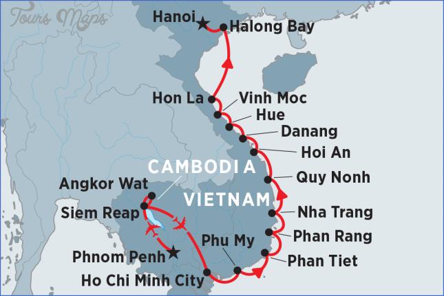 map vietnam cambodia siem reap cambodia map  5 Map Vietnam Cambodia   Siem Reap Cambodia Map