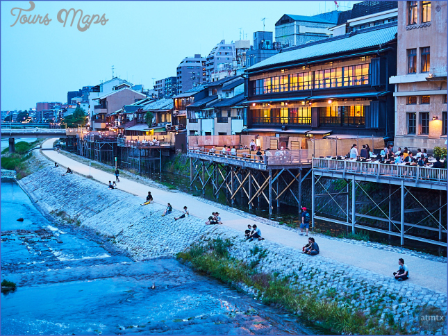 the kamogawa river 8 The Kamogawa River