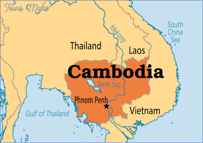 where is cambodia located in the world map 5 Where Is Cambodia Located In The World Map