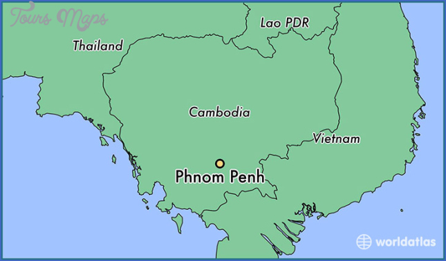 where is cambodia located on the world map 3 Where Is Cambodia Located On The World Map