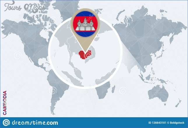 where is cambodia located on the world map 9 Where Is Cambodia Located On The World Map