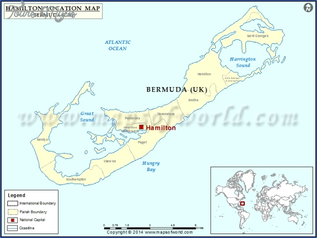 Where is Hamilton, Bermuda? - Hamilton, Bermuda Map ...