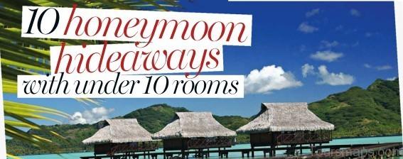 %name 10 Honeymoon Hideaways With Under 10 Rooms