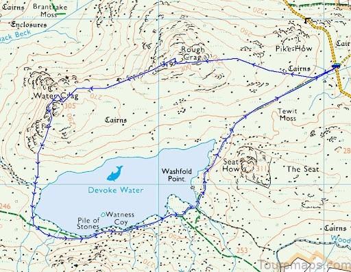 devoke water map devoke water visit cumbria5 Devoke Water Map   Devoke Water   Visit Cumbria