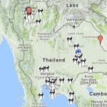thailand map for muay thai 150x150 Thailand Map for Muay Thai