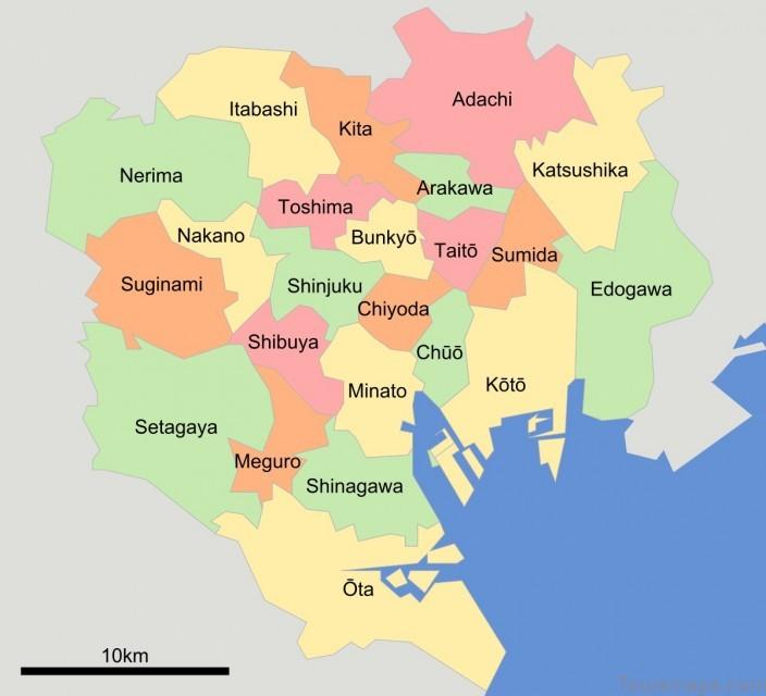 tokyo map tokyo city guide 1 Tokyo Map   Tokyo City Guide