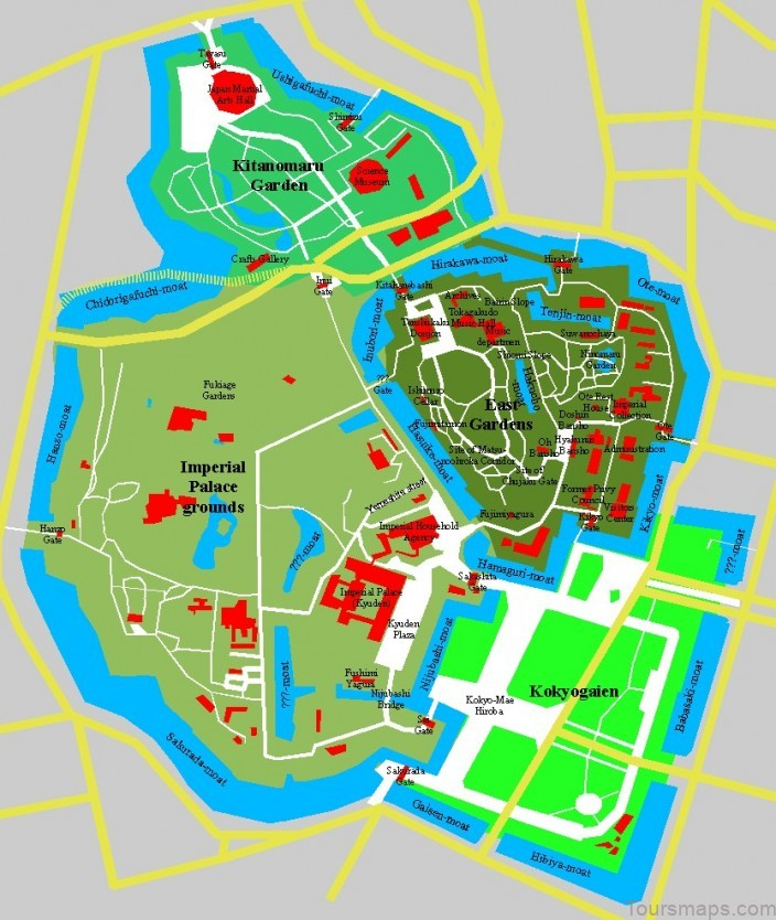 tokyo map tokyo city guide 2 Tokyo Map   Tokyo City Guide