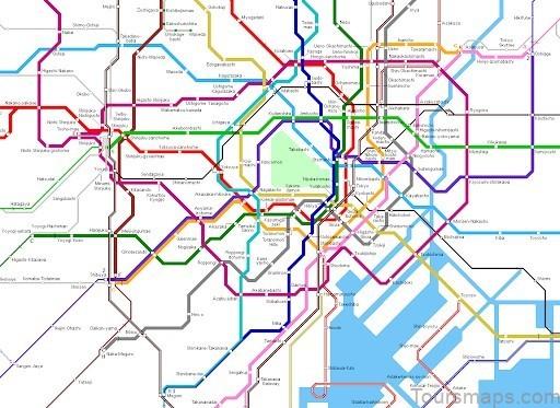 tokyo map tokyo city guide 5 Tokyo Map   Tokyo City Guide