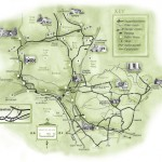 map of abergavenny abergavenny guide1 150x150 Map of Abergavenny   Abergavenny Guide   Llanover House