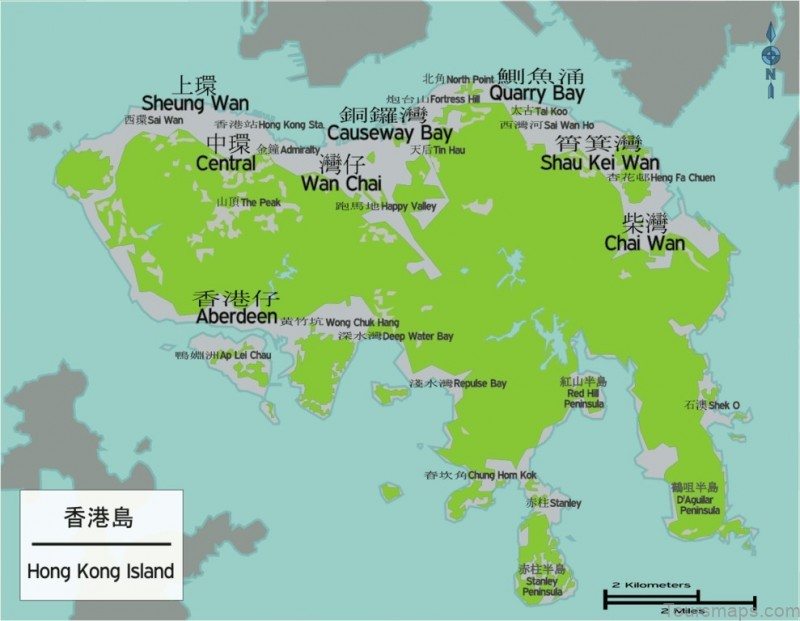 %name Hong Kong Maps: Tourist Attractions, Streets, Subway, Aberdeen Country Park