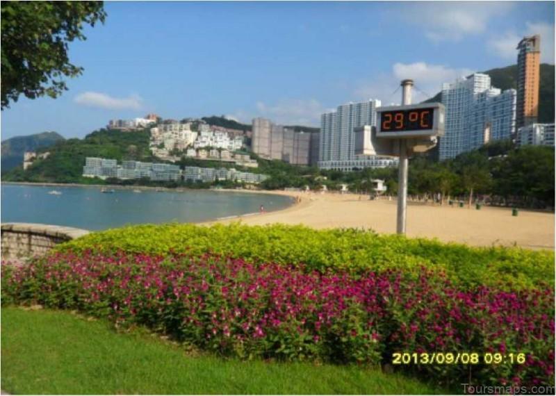 repulse bay beach map the best beach in china 31