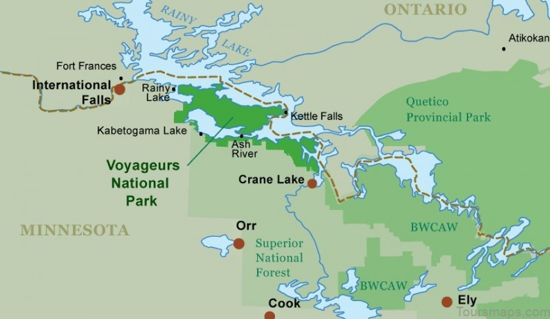 the 10 best american national parks to visit voyageurs national park guide canoeing com The 10 Best American National Parks to Visit