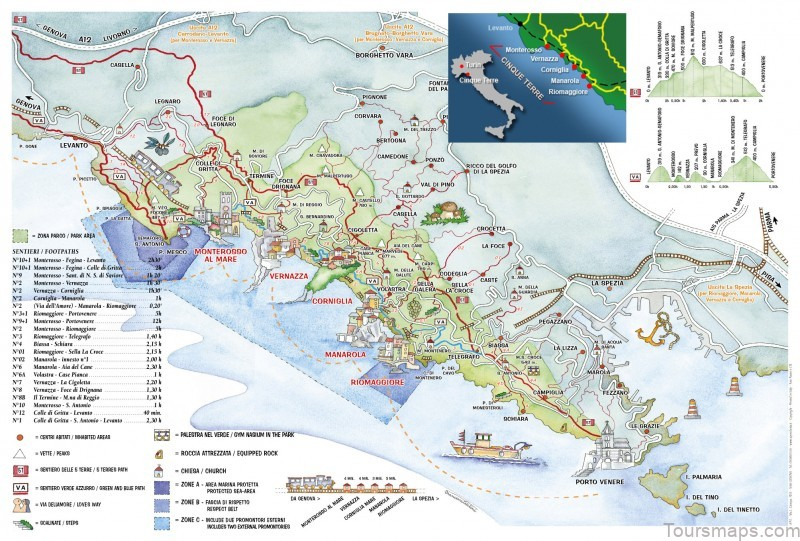 %name Map of Cinque Terre   Grand Hotel Portovenere Reviews   Where to Stay in Cinque Terre