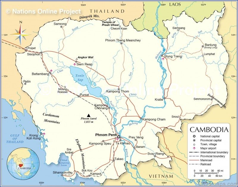 %name Reviews: Zannier Hotels Phum Baitang   Map of Cambodia   Where to Stay in Cambodia