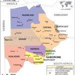 %name Map of BOTSWANA   Mombo Camp BOTSWANA